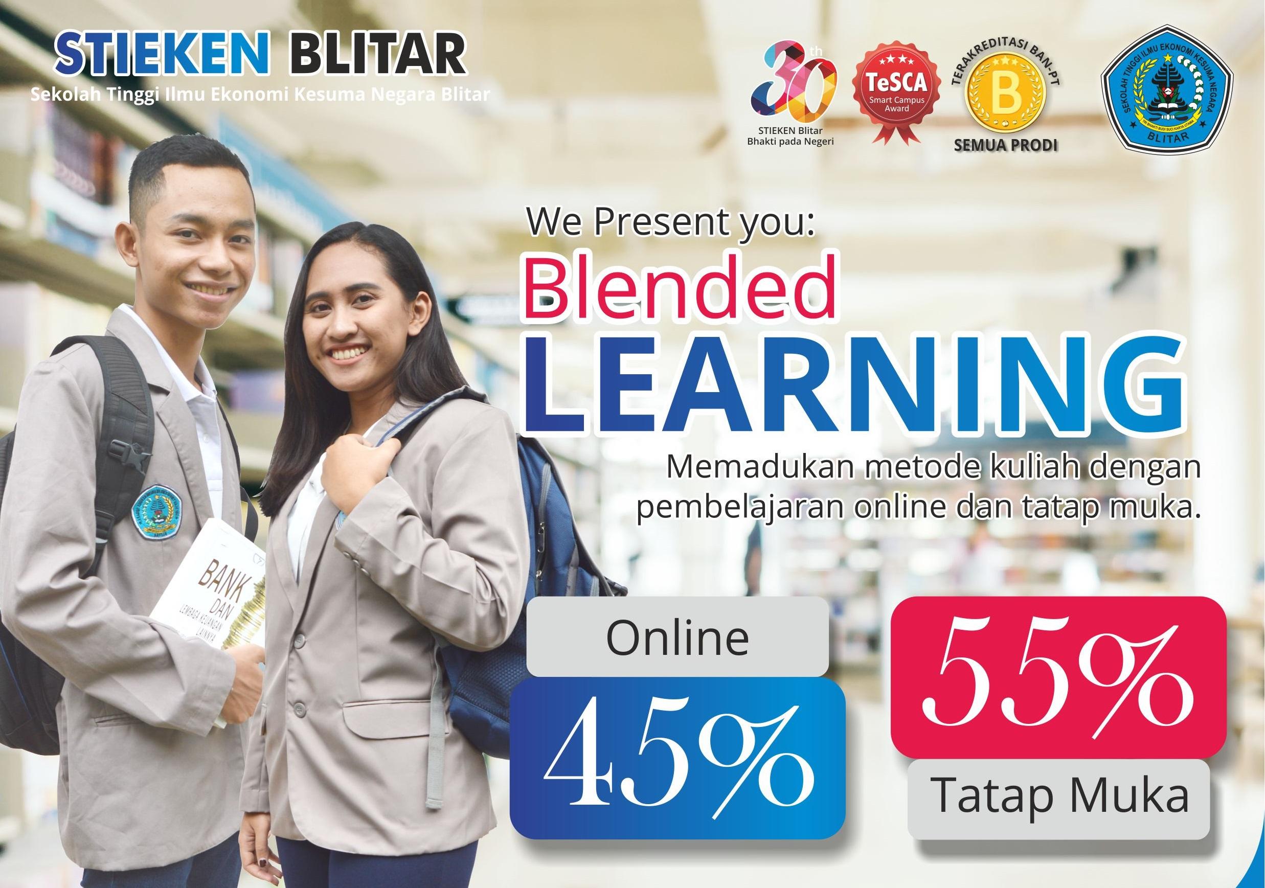 Penerimaan Mahasiswa Baru Jalur Blended Learning